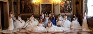 Foto di gruppo spose Atelier Nozze Care Nozze